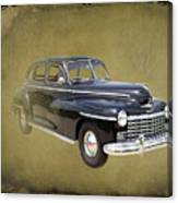 1946 Dodge D24c Sedan Canvas Print