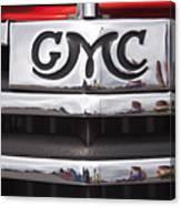 1946 Gmc Truck Grill 2 Canvas Print