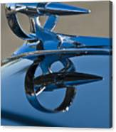 1947 Buick Roadmaster Hood Ornament Canvas Print