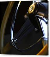 1947 Cadillac Model 62 Coupe Steering Wheel Canvas Print