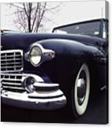 1947 Classic Lincoln Ragtop On Moody Day Canvas Print