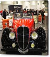 1947 Delahaye 135m Letourner Et Marchand Cabriolet Canvas Print