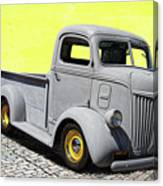 1947 Ford Cab Over Engine Truck Canvas Print