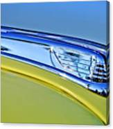 1947 Ford Super Deluxe Hood Ornament 2 Canvas Print