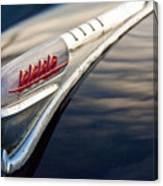 1947 Plymouth Hood Ornament 1 Canvas Print