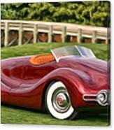 1948 Buick Streamliner Canvas Print