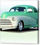 1948 Chevrolet Coupe Canvas Print