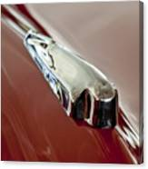 1948 Crosley Convertible Hood Ornament Canvas Print