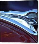 1948 Dodge Ram Hood Ornament Canvas Print