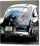 1948 Fastback Cadillac Canvas Print