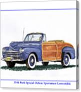 1948 Ford Sportsman Convertible Canvas Print