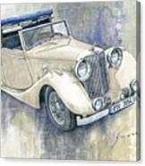 1948 Jaguar Mark Iv Dhc Canvas Print