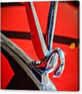 1948 Packard Hood Ornament 2 Canvas Print
