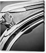 1948 Pontiac Chief Hood Ornament 2 Canvas Print