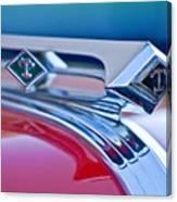 1949 Diamond T Truck Hood Ornament 3 Canvas Print