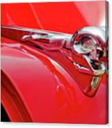 1949 Dodge Truck Hood Ornament Canvas Print