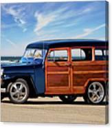 1949 Willys Woody Wagon I Canvas Print