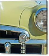 1950 Chevrolet Fleetline Grille Canvas Print