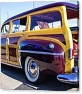 1950 Chrysler Royal Woody Canvas Print
