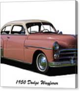 1950 Dodge Wayfarer 2 Door Sedan Canvas Print