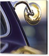 1950 Mercury Custom Lead Sled Side Mirror Canvas Print