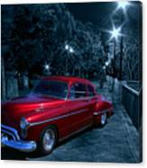 1950 Olds Ninety-eight Canvas Print