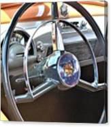 1950 Olds - Oldsmobile 88 Dashboard Canvas Print