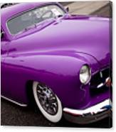 1950 Purple Mercury Canvas Print