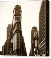 1950 Times Square New York Canvas Print