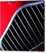 1951 Allard K2 Roadster Hood Ornament Canvas Print
