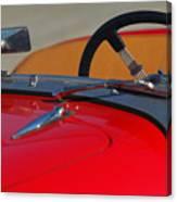 1951 Allard K2 Roadster Steering Wheel Canvas Print