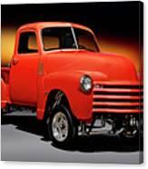 1951 Chevrolet 'gasser Style' Pickup I Canvas Print