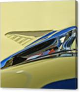1951 Ford Hood Ornament 2 Canvas Print