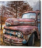 1951 Ford Truck Canvas Print