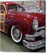 1951 Ford Woody Wagon Canvas Print