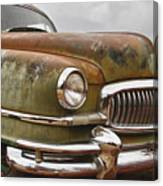 1951 Nash Ambassador Hydramatic Front End Canvas Print