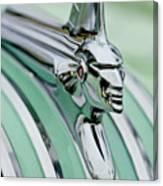 1951 Pontiac Streamliner Hood Ornament 3 Canvas Print
