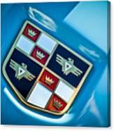 1951 Studebaker Hood Emblem Canvas Print