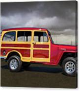 1951 Willy's Jeepster Canvas Print