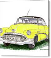 1952 Buick Special Canvas Print