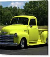 1952 Chevrolet Pickup Truck Canvas Print