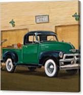 1952 Ford F100 Pickup Canvas Print