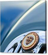 1952 Jaguar Hood Ornament Canvas Print