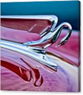 1952 Packard 400 Hood Ornament Canvas Print