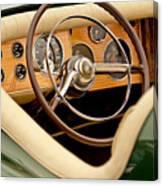 1952 Sterling Gladwin Maverick Sportster Steering Wheel Canvas Print