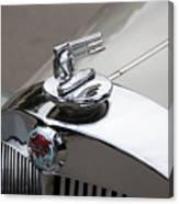 1952 Triumph Renown Limosine Radiator Cap Canvas Print