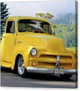 1953 Chevrolet Stepside Pickup I Canvas Print