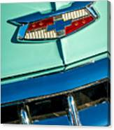 1954 Chevrolet Belair Emblem Canvas Print