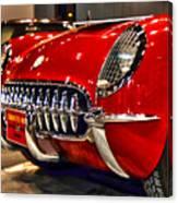 1954 Chevrolet Corvette Number 3 Canvas Print