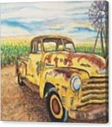 1954 Chevrolet Pickup Truck.   Canvas Print